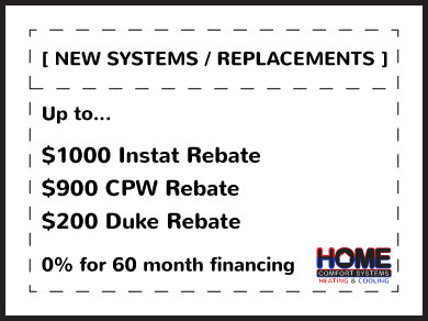 New Systems & Repalcements Coupon