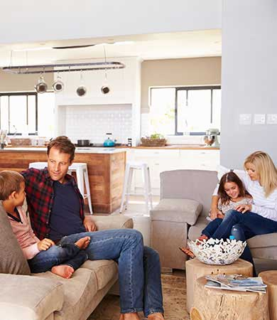 Enjoy a comfortable home year round wit hHome Comfort SYstems by your side.